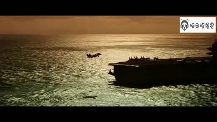 壮志凌云:舰载机起降镜头,全都是实物实拍
