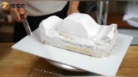 这样做的小汽车蛋糕,既别致又好吃,太厉害了