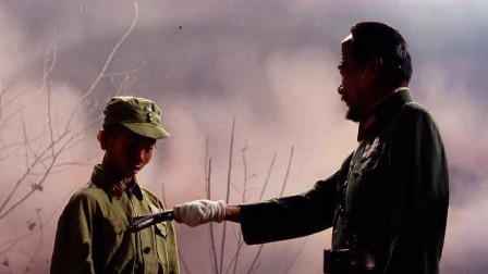 三毛从军记:三毛被奖励手枪,一枪竟打死四个鬼子,这枪法绝了!