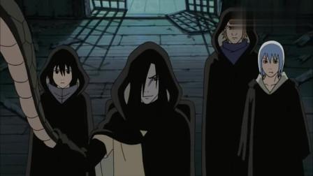 大蛇丸和佐助一起取到了死神的面具,还召唤死神取回了自己的双手