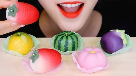 造型精美的日本和果子,咬一口软糯香甜,网友:去日本必吃的美食