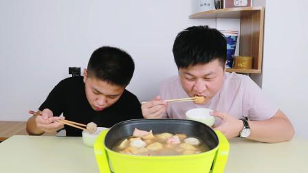 """68元网购便利店同款""""关东煮""""煮出来满满一锅,关东煮一次吃个够"""