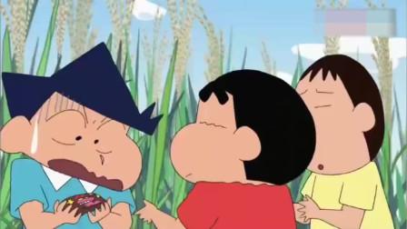 蜡笔小新:小新等人吃完冰淇淋,帮正男和妮妮找到巧克力味的吃掉
