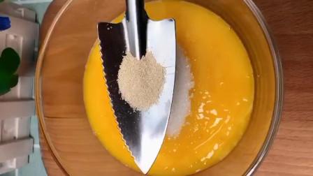水果蒸蛋糕教程!蓬松宣软,学会可以开店了