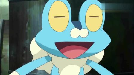 神奇宝贝:呱呱泡蛙化身侦察员潜入,大家却没想到,达兹早有准备布下陷阱