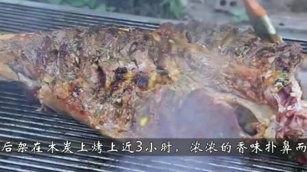 柬埔寨妹子独自吃掉几十斤的牛腿,难不成家里有矿?