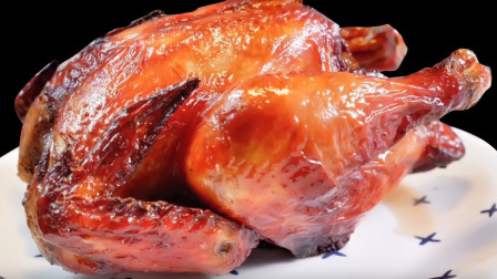太省事了!用电饭锅做烧鸡,不放1滴水和油,酥香软烂,懒人必学
