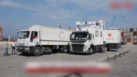 中国向叙利亚捐赠1152吨大米和海关用的设备