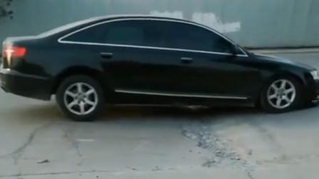 在这个路段可以看出各种车辆减震的好坏,唯有普拉多,霸道不带减速的!