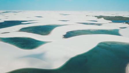 世上最神奇的沙漠,犹如白雪覆盖
