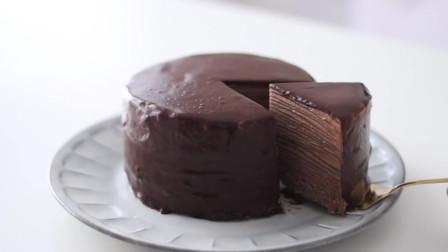 孩子超爱的生日蛋糕:高颜值的巧克力牛奶蛋糕!做法简单零失败