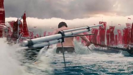 格列佛游记:格列佛发现自己刀枪不入,一个人干翻一支舰队,真厉害