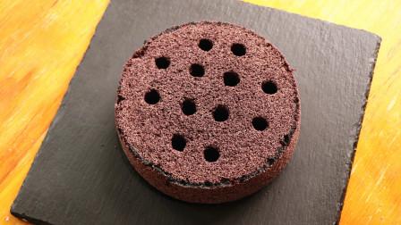 蛋糕神奇的做法,不用面粉,不用烤箱,蓬松柔软,香甜软糯