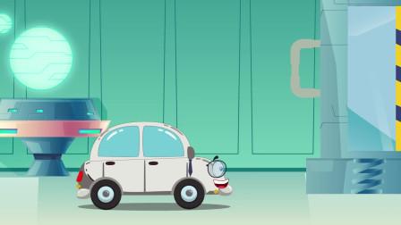 趣味益智动画片 小汽车穿越到古代