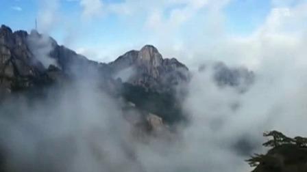 新安夜空 2019 黄山风景区出现大美云海 场面非常壮观