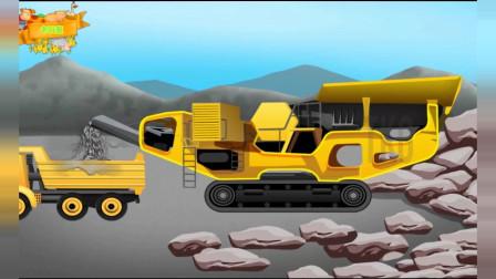 驾驶操作工程车模拟道路建设 工程车总动员益智游戏