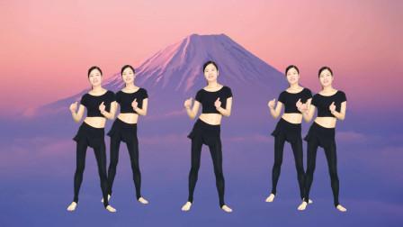 广场舞《DJ长街》动感快乐32步简单健身操