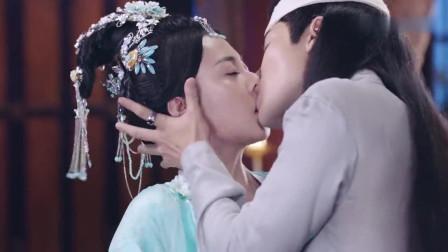 王爷的痴情终于感动心机女,热吻在一起,抱得美人归了