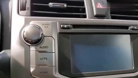2019款丰田4Runner到店实拍, 看到外观和内饰, 给个不喜欢的理由
