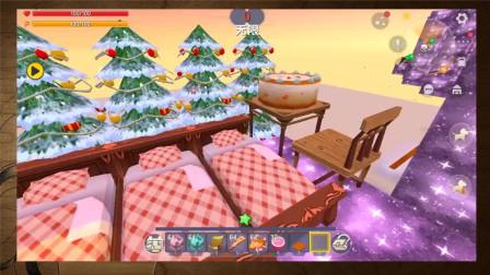迷你世界:玩家挑战星光跑酷,这跑道真是太炫酷了!