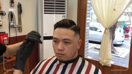 男生脸圆怎么办?剪这款发型你会变得超级帅!