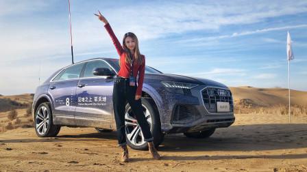 沙漠试驾奥迪Q8 最大扭矩500N·m 全时四驱  宝马X6你还敢吱声么?-网上车市