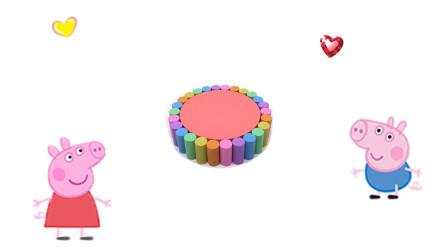 乐享形状乐园教你用彩泥制作带彩色饼干的草莓味蛋糕