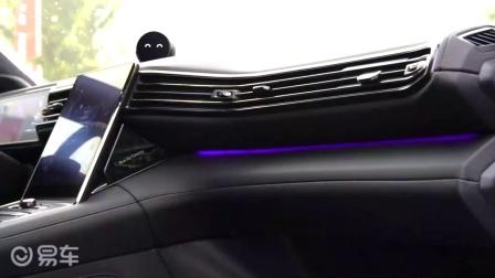 蔚来ES6内装布局合理, 接近传统车型