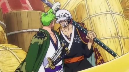 海贼王:索隆秒变心机男,阿菊一脸懵懂的回过头