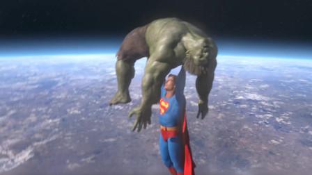 (网友自制)超人VS绿巨人3