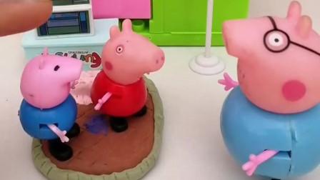 猪妈妈不在家,猪爸爸唱好汉歌哄乔治佩奇睡觉,也是没谁了