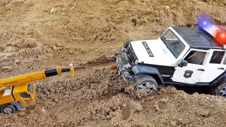 最新挖掘机视频表演1031大卡车运输挖土机+挖机工作+工程车