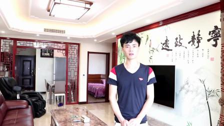 中式装修风格加上红实木隔断,呈现出古典美,整套房子看着很过瘾
