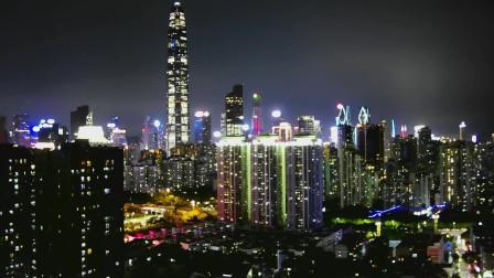 深圳夜景——延时摄影