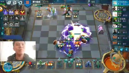 腾讯手游版云顶之弈,6刺客阵容要么秒人要么被秒