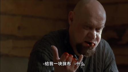 不良家庭:光头叔被人切断手指,居然把断指捡起来,全塞进了嘴里