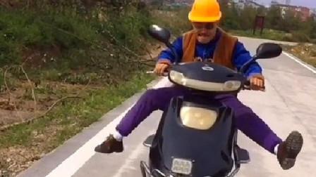 """""""光头强""""去郊外骑车,接下来做的这个举动,网友:真被感动了!"""