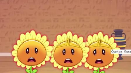 植物大战僵尸:沙漠遭怪物偷袭,卷心菜英勇牺牲了!