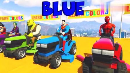GTA5:驾驶拖拉机行驶,学习颜色!