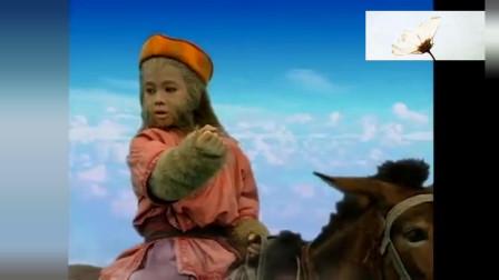 天地争霸美猴王 灵猴遭百姓追捕,观音显灵变出会飞的驴子救下灵猴