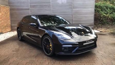 Porsche Panamera Turbo S -进入内饰才知道什么是极致奢华!