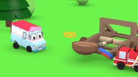 挖掘机视频表演大全4 挖土机玩具视频 挖土机 推土机动画片03