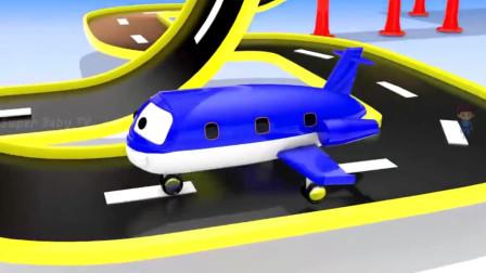 挖掘机视频表演大全4 挖土机玩具视频 挖土机 推土机动画片12