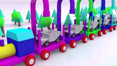 挖掘机视频表演大全4 挖土机玩具视频 挖土机 推土机动画片16