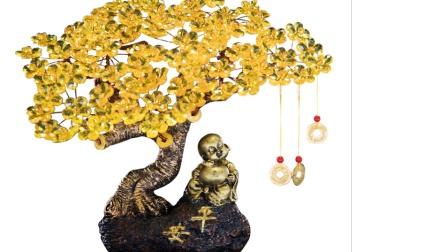 仿铜禅意发财树