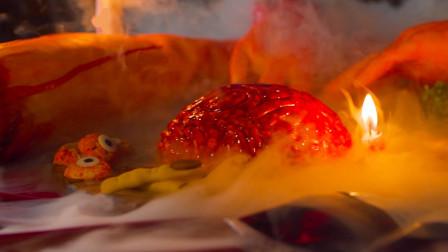 """万圣节惊魂夜,这么逼真的""""人脑""""蛋糕你敢吃吗?"""