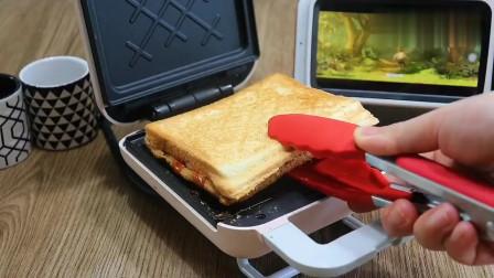 自制三明治,做法简单,适合新手