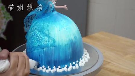 这么美腻的艾莎公主原来是牛人做的翻糖蛋糕?满足你的少女心