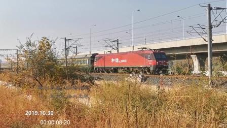 宁波开往长春的k336次火车,通过天津西站,继续北上,开往目的地