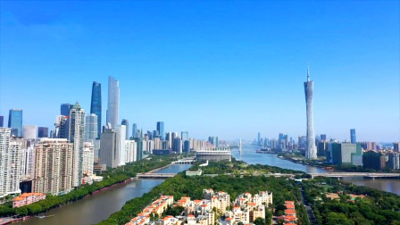 """广州蓝刷屏成""""网红"""",碧空如洗开启高颜值,随手一拍都是大片"""